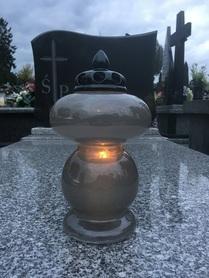 Memoro Grey Ceramic 2 SZTUKI