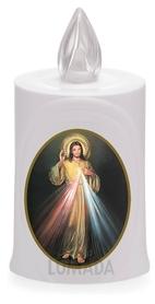 Wkład LED biały ikona Jezus