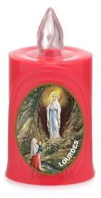 Wkład LED ikona czerwony Lourdes