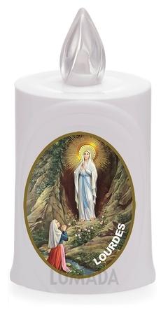 Wkład LED biały ikona Lourdes (1)