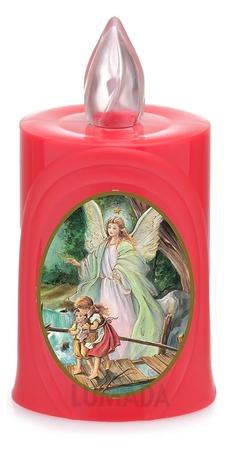 Wkład LED czerwony ikona Anioł Stróż (1)