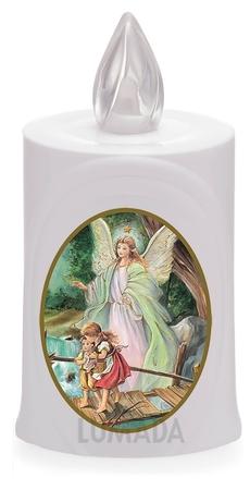 Wkład LED biały ikona Anioł Stróż (1)